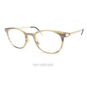 lindberg precious horn unique 1818 18k yellow gold  린드버그 프레셔스 혼 금테